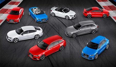 Gama Audi Quattro