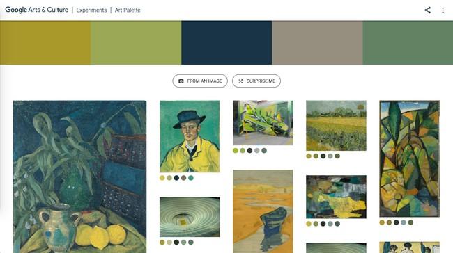 Window Y Google Art Culture Experiment Art Palette