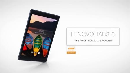 Lenovo TAB3 10, TAB3 7 y TAB3 8: las nuevas tabletas para trabajar y disfrutar en familia