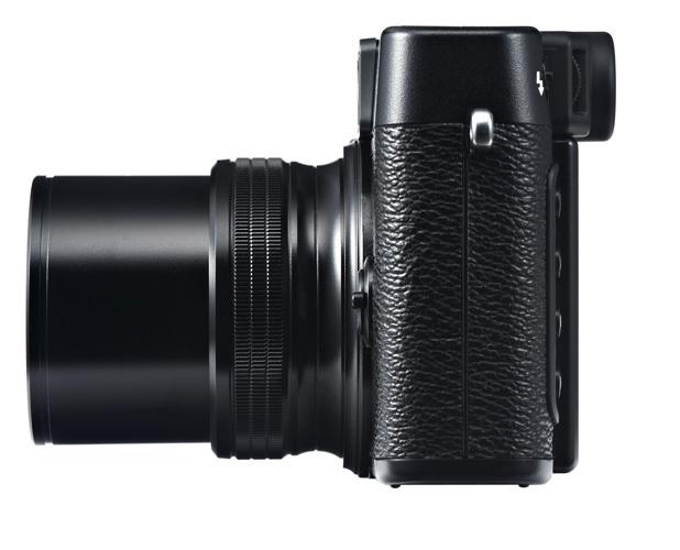 Fujifilm X20 vista lateral