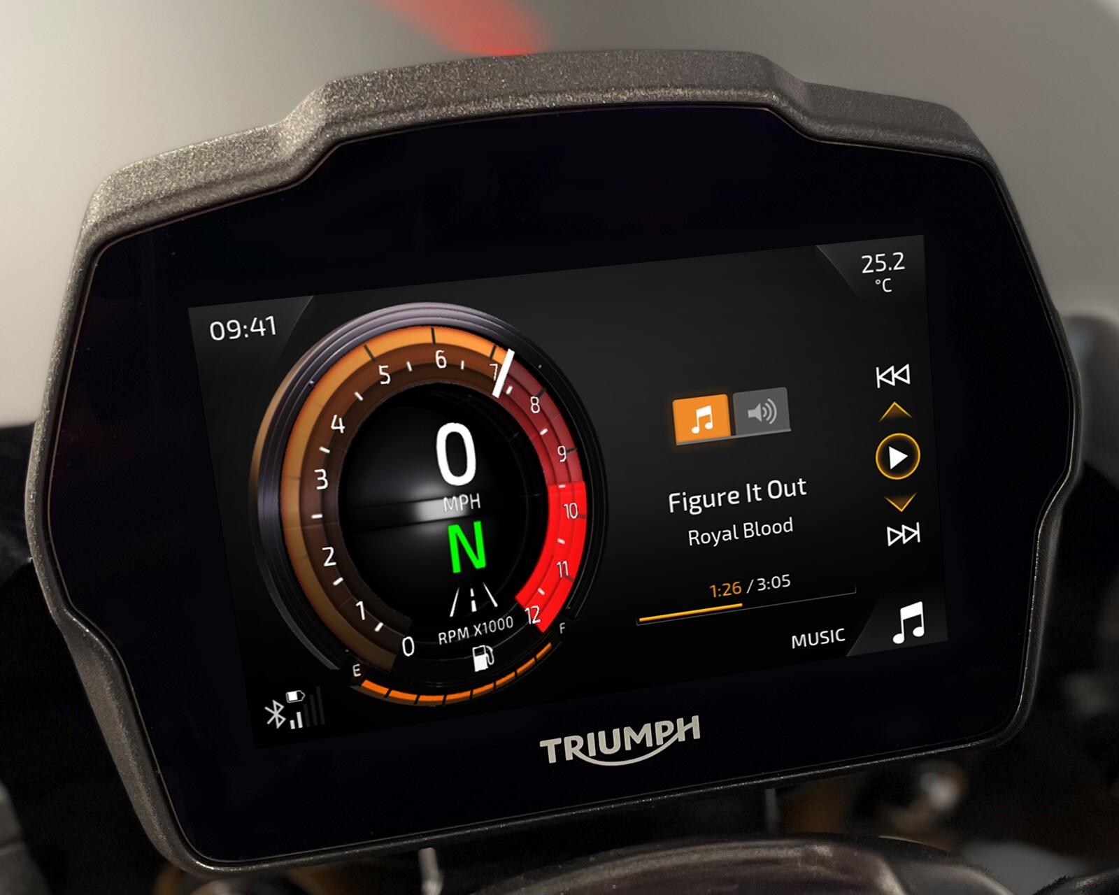 Foto de Triumph Speed Triple 1200 RS 2021 (7/71)