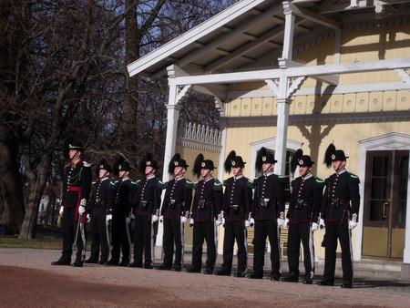 Cambio de Guardia Oslo Noruega