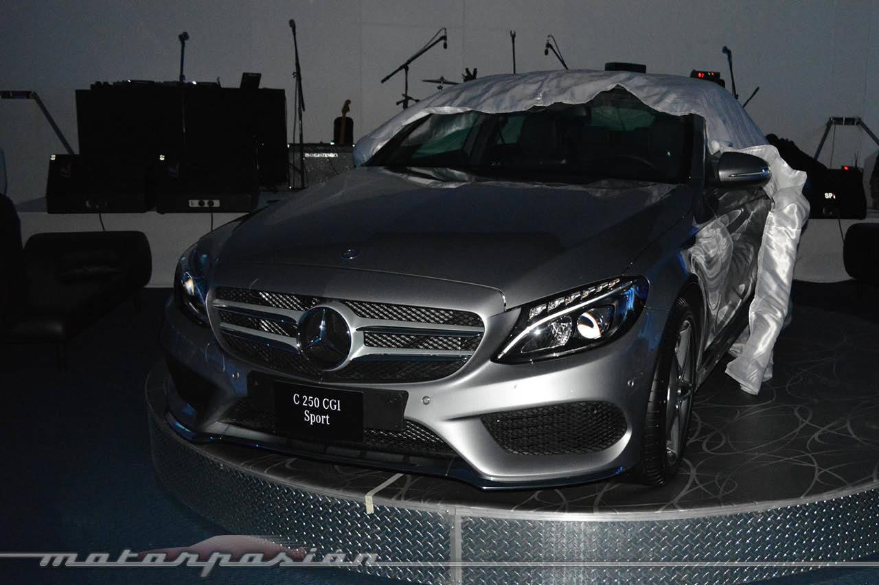 Foto de lanzamiento mercedes benz clase c 2015 1 12 for Mercedes benz cleveland area
