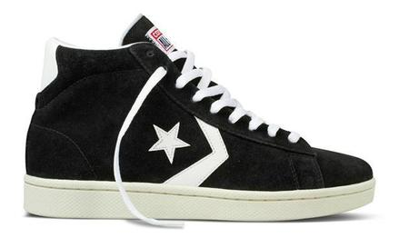 Converse Pro Leather Black White