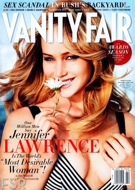 Pero qué re-mona está Jennifer Lawrence en Vanity Fair