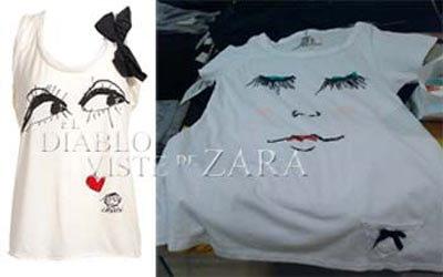 La camiseta rostro de Lanvin ya en Zara
