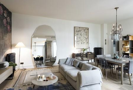 Estilo años 50 y toque industrial, París es siempre una buena idea y más con apartamentos como este