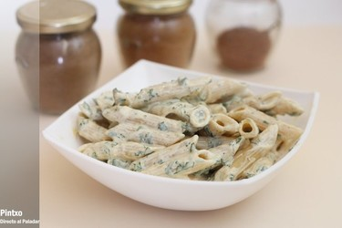 Receta de macarrones con yogur