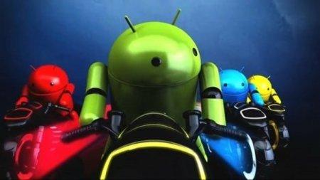android de colores