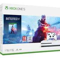 Consola Xbox One S de 1TB, con cuatro juegos gratis, por 199,91 euros en el Cyber Monday de El Corte Inglés