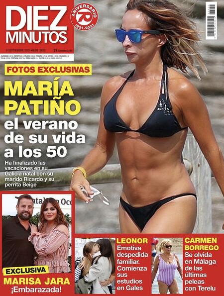 María Patiño en bikini