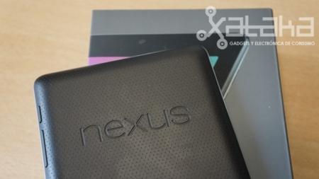 Nexus 7 acabado parte trasera