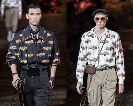 Bolidos Vintage El Estampado Que Sera Tendencia Gracias A La Semana De La Moda De Milan 03