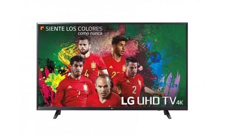 Disfrutar el Mundial al máximo sólo te costará 329,99 euros en eBay con la LG 43UJ620