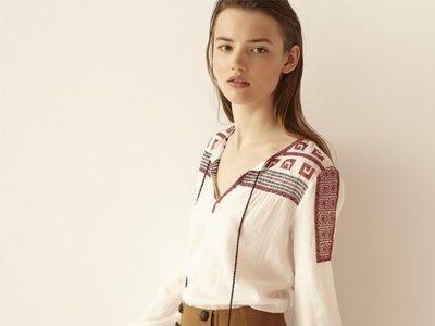 Las blusas bohemias que todas lucen esta temporada están en Sfera