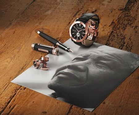 Nelson Mandela tiene su propia colección de edición limitada de Montegrappa