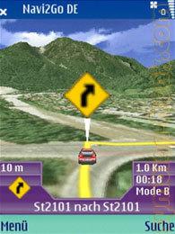 Navi2Go, navegación GPS en tres dimensiones