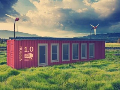 Estas viviendas inteligentes están hechas con materiales reciclados y generan su propia electricidad