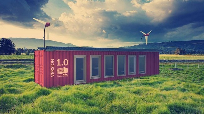Sustainer Homes Off Grid Shipping Container Homes 2x