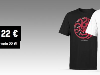 Oferta Flash: 2 camisetas de Juego de Tronos por 22 euros y envío gratis