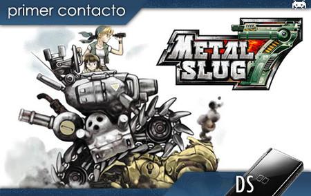 'Metal Slug 7', primer contacto (DS)