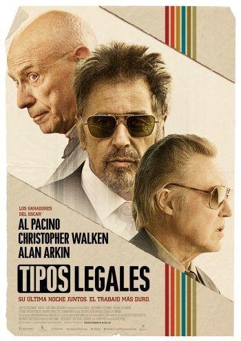 'Tipos legales' con Pacino, Walken y Arkin, carteles