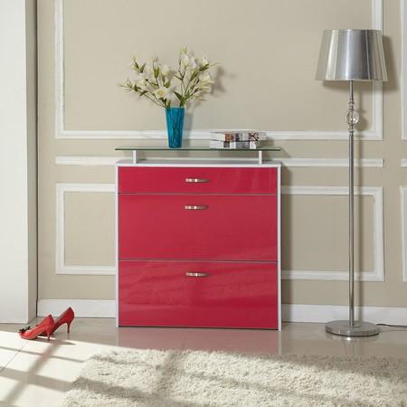 17 regalos decorativos en color rojo para san valent n for Zapateros decorativos