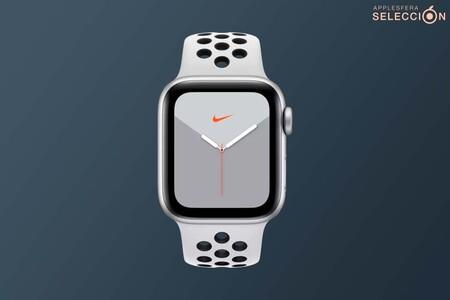 Mejora tus hábitos y haz deporte con el Apple Watch Nike Series 5 Cellular de 44 mm por 360 euros: más completo y barato que el SE