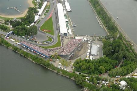 El Gran Premio de Canadá sólo tendrá una zona de DRS