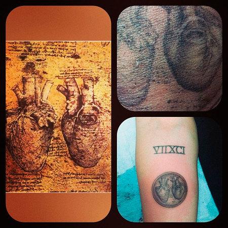 """El nuevo tatuaje de Miley Cyrus tiene como """"mucho corazón"""""""