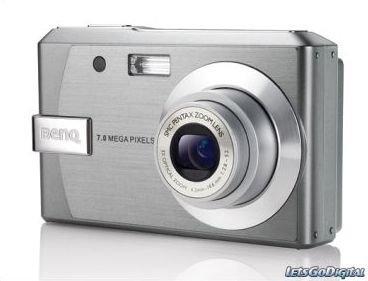 BenQ DC E720, otra cámara más del fabricante chino