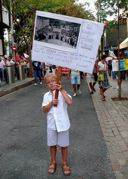 La politización de los menores