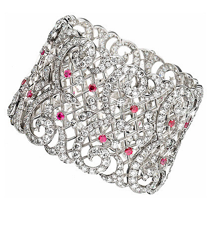 Brazalete de diamantes, joyería del Ritz