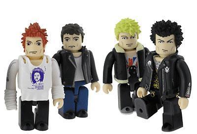 Muñecos de los Sex Pistols