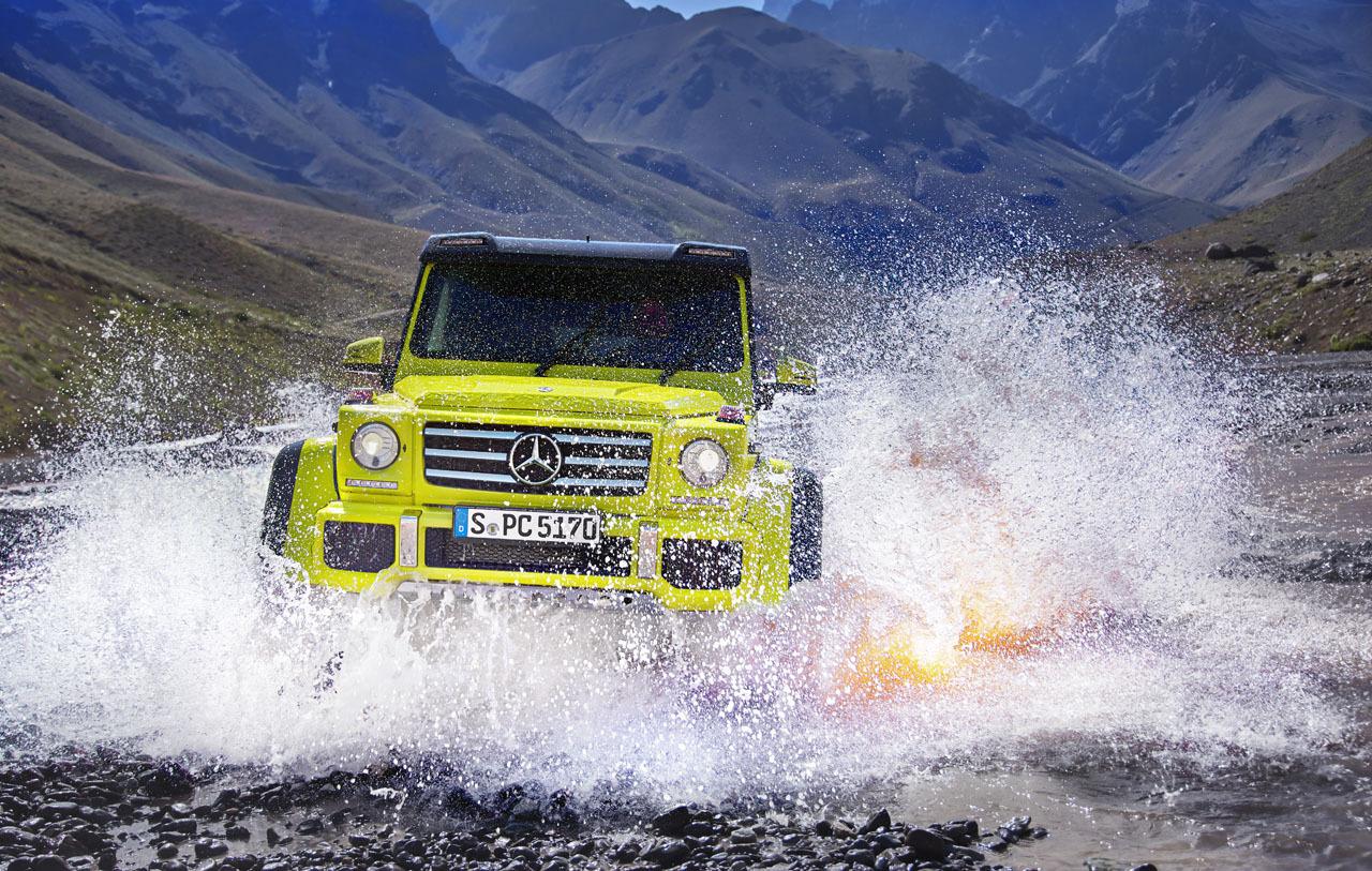 Mercedes-Benz G 500 4x4², toma de contacto