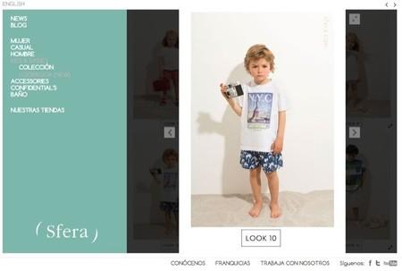 En Sfera tienen un amplio catálogo de ropa de verano especialmente dedicada a los peques