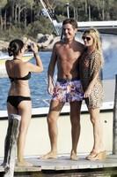 Geri Halliwell de vacaciones en Cerdeña con su nuevo novio
