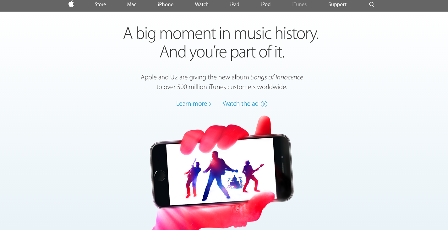 Foto de Nueva web de Apple (6/9)