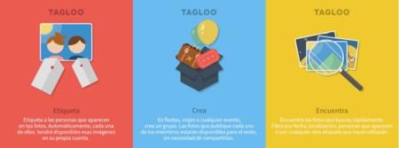 Las tres principales características de Tagloo