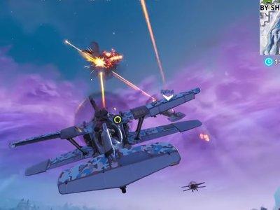 Guía Fortnite: destruye Alatormentas X-4 que estén en el aire [Temporada 7, semana 7]