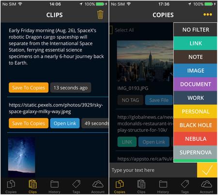 Copy Space Celular