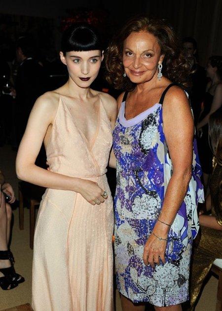 Rooney Mara Diane von
