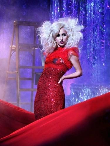 Nuevas imágenes de Lady Gaga para Gossip Girl