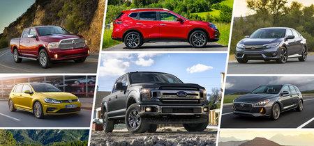 Los 50 coches más vendidos en el mundo durante la primera mitad de 2018