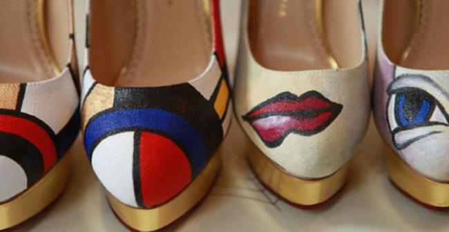 Charlotte Olympia Mondrian Picasso