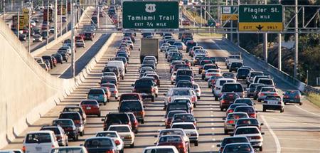 El estado de California reduce su flota de vehículos en un 20% respecto a 2010