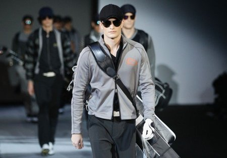 Emporio Armani, Otoño-Invierno 2011/2012 en la Semana de la Moda de Milán