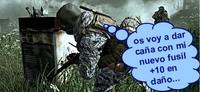 Soldado, modifica los niveles de Call Of Duty 4 inmediatamente ¡Es una orden!