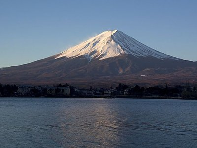 El monte Fuji luce más espectacular que nunca gracias a estos los drones luminosos
