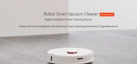 La segunda generación del robot aspirador inteligente de Xiaomi, ahora con agua, por 395 euros y envío gratis